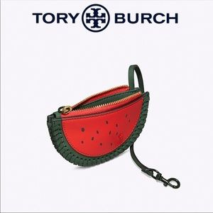 Tory Burch Watermelon Coin Pouch Key Ring